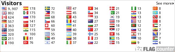 http://s07.flagcounter.com/count/pAqs/bg=FFFFFF/txt=000000/border=CCCCCC/columns=8/maxflags=72/viewers=0/labels=0/