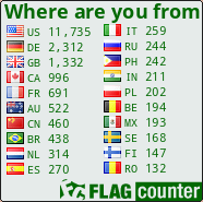 thx at flag counter