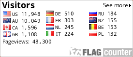 http://s07.flagcounter.com/count/yDEF/bg=FFFFFF/txt=000000/border=CCCCCC/columns=3/maxflags=12/viewers=0/labels=1/pageviews=1/