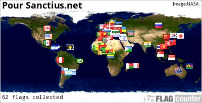 Afficher la provenance des visiteurs par pays et drapeau sur son site